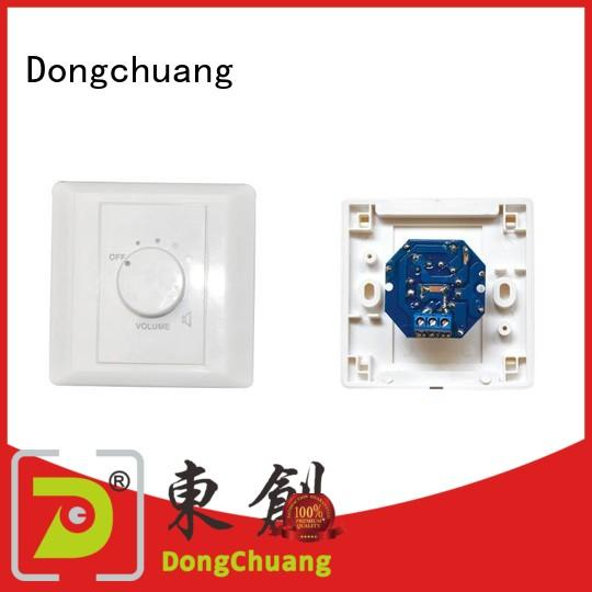 Dongchuang wall volume control knob directly sale for professional use