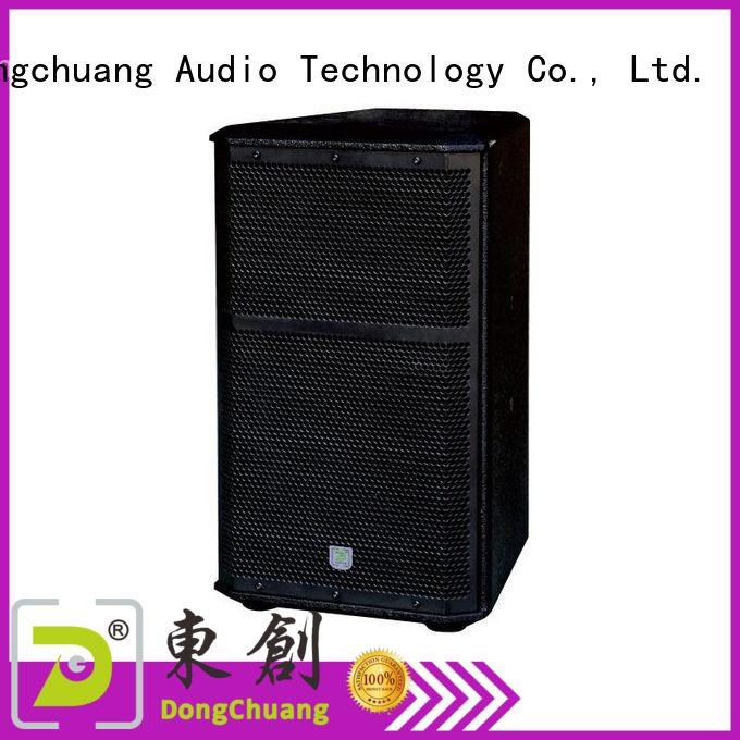 Dongchuang speaker professional factory price for dj