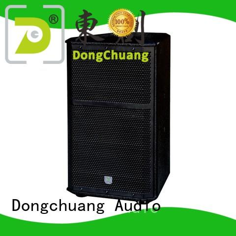 Dongchuang energy-saving professional concert speakers custom for professional use