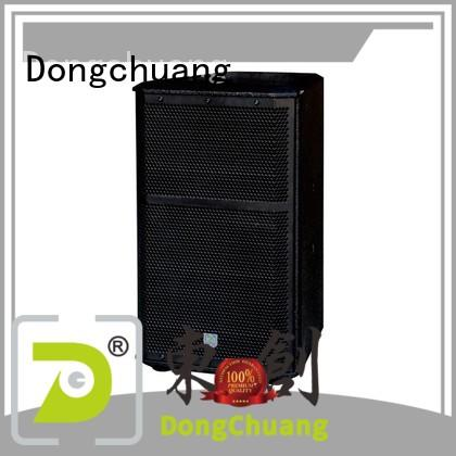 Dongchuang efficient best professional speakers directly sale for club
